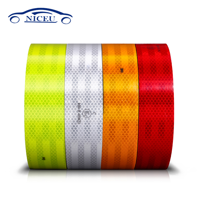 reflective Multi Color PVC Reflective Tape for traffic signs