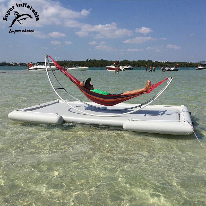 Pvc Floating Swimming Dock Platform,Huge Leisure Inflatable Dock Floats -  Buy Inflatable Dock Platform,Inflatable Dock,Inflatable Dock Floats Product