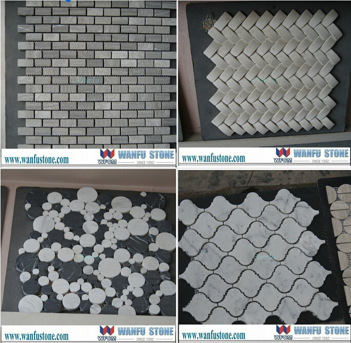 China keuken backsplash bruin glitter glasmozaïek tegel