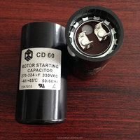 Capacitor CD60 for motor starting applications