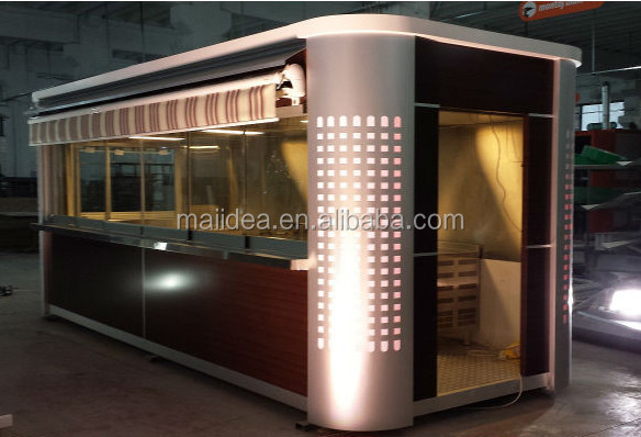 Unpollution Outdoor Restaurant Container Mobile Coffee