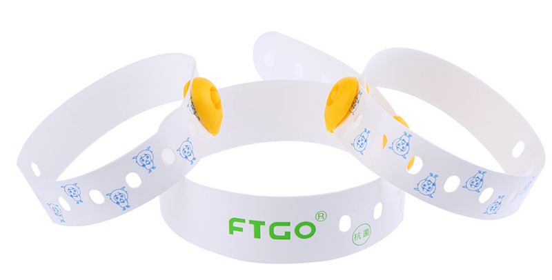 FTGO Mother & baby Identification nano silicon wristbands medical ID bracelet for adult or children