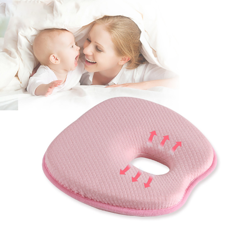 0-3 year soft baby pillow Bolster Set Baby Head Shaping Pillow