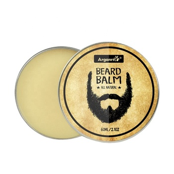Beard Care OEM/ODM/OBM 100% Natural Leave-In Conditioner Beard Balm with Private Label