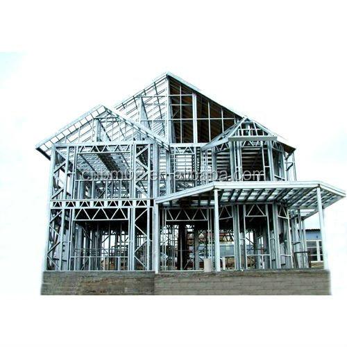 Lujo china precios de las casas prefabricadas con estructura de acero ligero para la venta casa - Casas de acero precios ...