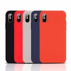 Silicone phone case for iphone X universal silicone phone case for iphone X mobile phone case maker