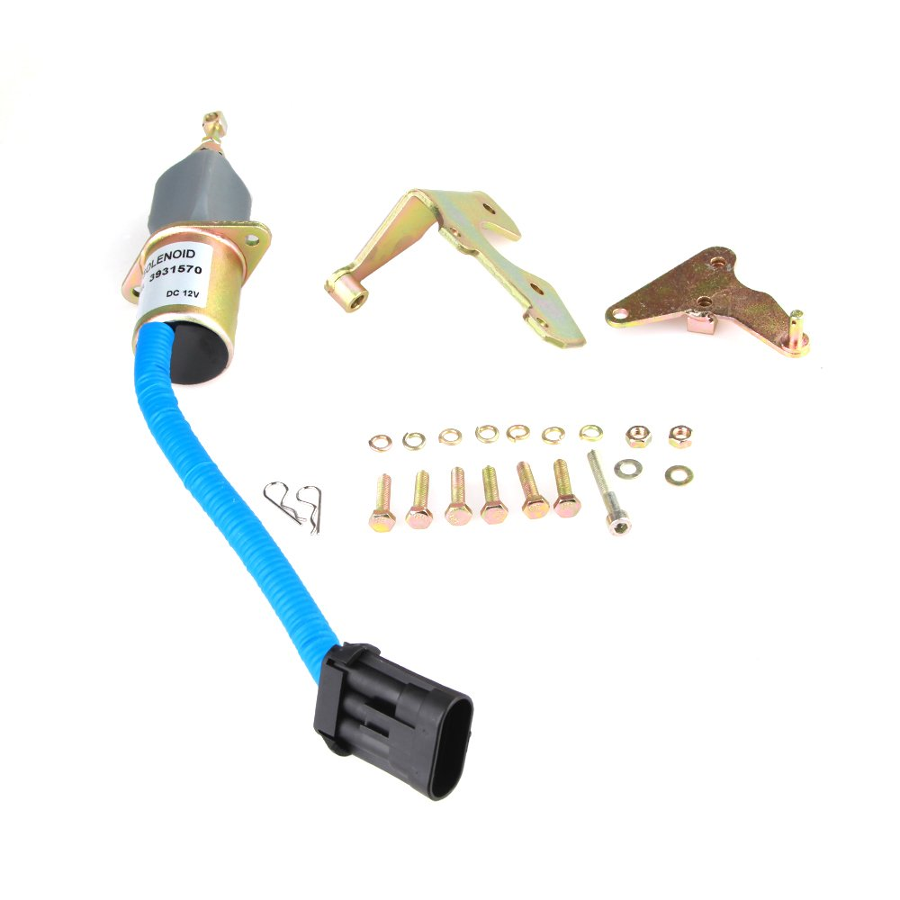 Fuel Shut Off Solenoid For 94-98 5.9L Dodge Ram Pickup Diesel Cummins