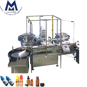 MIC-L60 rotary type Peristaltic pump control E-liquid Filling Machine E-cigarette Liquid Filling Machine