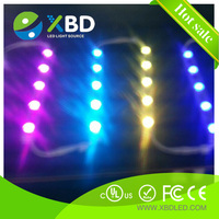 CE waterproof single and double-sided illumination Osram or Epistar chip high power RGB SMD LED Light Bar module edge-lit