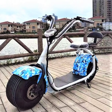 1500w chinese electric scooter adults off road citycoco yadea electric scooter 2 seats