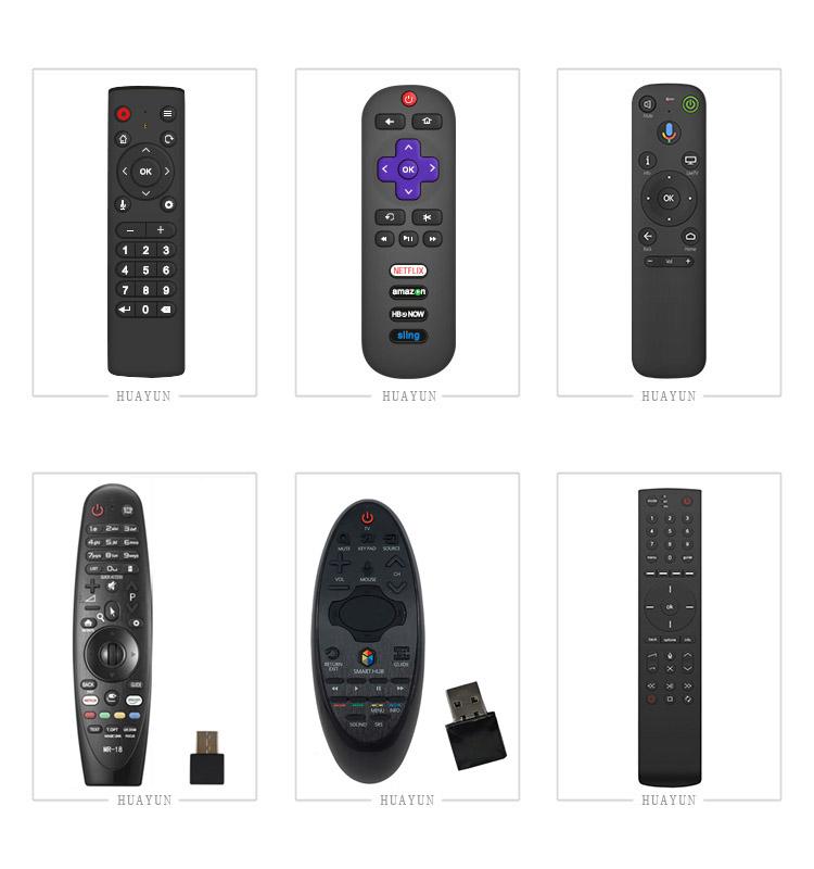 Universale IR telecomando TV per DVB, set top box, IPTV, OTT, supporto OEM ODM