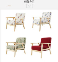 Wooden+Sponge Leisure sofa