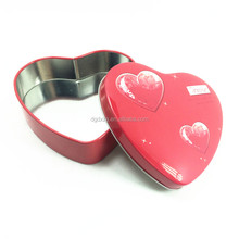 2017 New Heart Shape Gift Tin