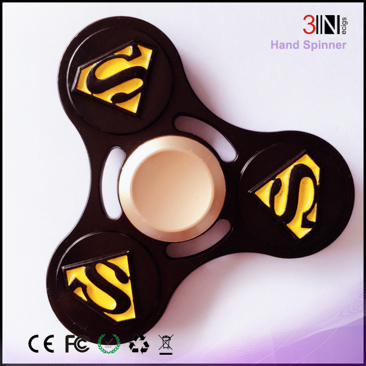 New Arrival Stress Reducer Toy Superman fidget spinner