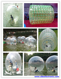 IW 2014 Bubble ball game interactive inflatable games,body inflation games,inflatable interactive adult game