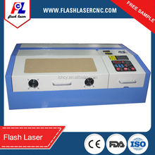 2016 new design, rubber stamp laser engraving machine k40