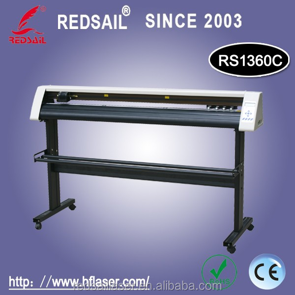 Redsail new cutting plotter RS1360C with English software factory price