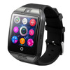 New Smart Watch Q18 Arc Clock With Sim Card NFC Bluetooth Smartwatch for iPhone 5s 6 6s Plus Android Phone Watch PK DZ09 U8 GT08