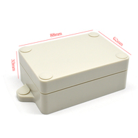 IP65 Rated Small outdoor plastic waterproof enclosure/Junction box
