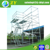 Q235 ringlock scaffold and aluminum scaffold plank for sale