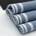 Polyester / Cotton Fabric Woven Fabrics Woven Cotton Polyester Fabric Cvc Stripe Fabric 60% Cotton 40% Polyester Yarn Dyed Woven Stripe Shirt Fabrics