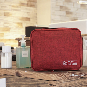 Waterproof Makeup Pouch Organizer Travel Bag Case Outdoor With Handle