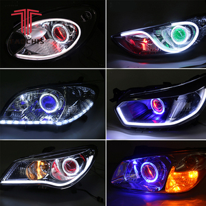 Demon Eye Led Light Devil Eyes For 3 2.5 Inch Car Head light Projector Lens Motorcycle HID Xenon Hella Q5 WST 360 Degree SMD