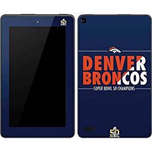 NFL Denver Broncos Kindle Fire (7in, 2015) Skin - Denver Broncos Super Bowl 50 Champions Bold Vinyl Decal Skin For Your Kindle Fire (7in, 2015)
