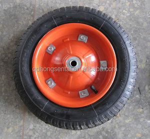 penumatic and solid wheel 13x3 wheelbarrow tyre