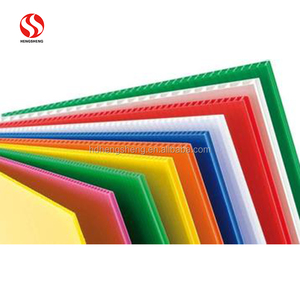 Screen printing pp corrugated sheet price plastic sheet for floor covering