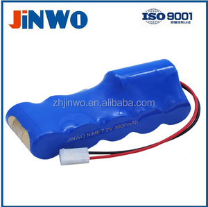 NiMh Battery For Kangaroo 224 Feeding Pump, 321 Feeding Pump, 324 Feeding Pump 7.2V, 3000mAh Medical Compatible Batteries