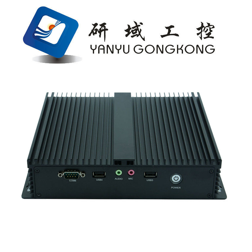 Mini PC Fanless barebone system NFD10 industrial mini pc with serial parallel port