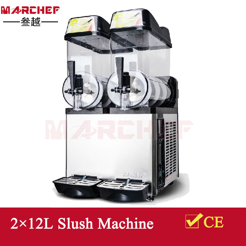 24L Kommerzieller Slush Machine_Frozen Slush Machine_Granita Machine