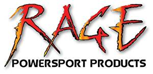Rage Powersports Cargo Control Motorcycle Chock - Removble; Black Powdercoat, 5-1/2Inw; W Hardware - MC-CH-55
