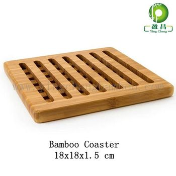 Bamboo Wooden Hot Pot Dining Table Mats