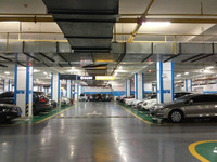 Vehicle Detection sensor System-Indoor Parking Guidance System with ultrasonic detector sensor