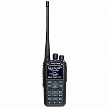 <span class=keywords><strong>Anytone</strong></span> <span class=keywords><strong>AT</strong></span>-<span class=keywords><strong>D878UV</strong></span> DMR walkie talkie rádio em dois sentidos handheld com GPS digital