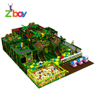 Plastic Playground Forest Indoor 2019 New Design Used Commercial Forest Series Kids Soft Indoor Playground