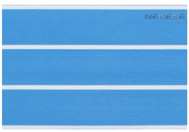 6 MM thick Blue Marine Boat EVA Foam Flooring Teak Deck Pad Sheet