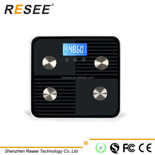 RESEE body analysis system bluetooth bathroom weighing scale