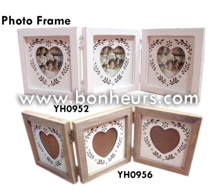 New Novelty Toy Wooden Frame Heart Shape Picture Photo Frame