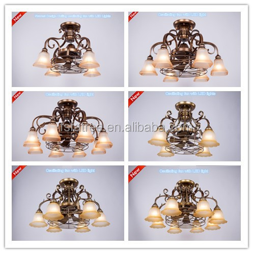 New Lighting flower Chandelier with 6 lights