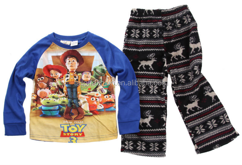 pajamas kids 2014 winter pajamas wholesale cartoon pajamas children boys