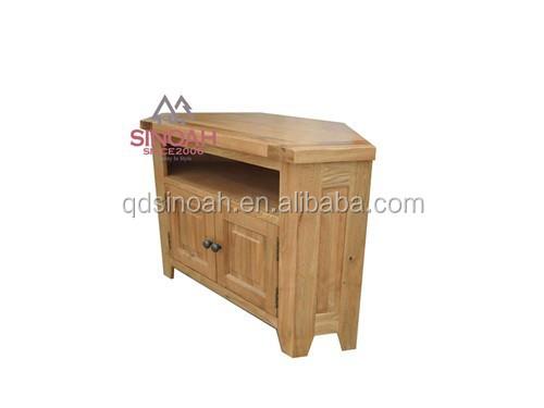 estilo rstico natural de roble esquina tv standliving room furniture