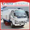 DongFeng 4*2 mechanical road sweeper, LED truck with good quality