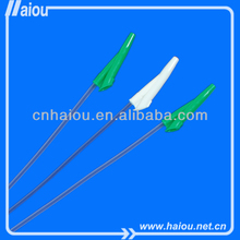 Hot selling disposable suction catheter with two opposite eyes
