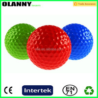 Rubber Core+Surlyn 3 piece practice ball golf