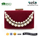 Online Fashion Ss18 Pearl Decorative Effect Bride Clutch Bags Wedding Gift For Lady
