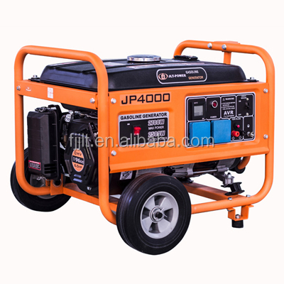 Cheap! 5KW electric gasoline generator Hyundai with pure copper winding JLT power JP4000