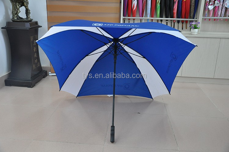 60 Inch ARC Auto Open Strong Fiberglass Rectangular Umbrella